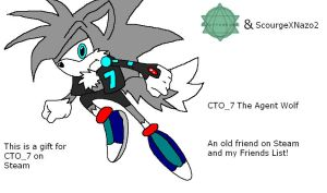 GIFT: CTO_7 The Agent Wolf by ScourgeXNazo2