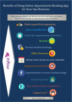Benefits of spa online booking app - mSpa by mspaapp