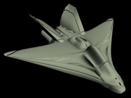 UNSC Fighter by Rick-Evans