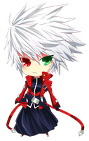 Ragna chibi by CaptainStrawberry