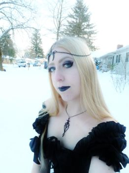 Icy Goth Queen by Danika-Stock