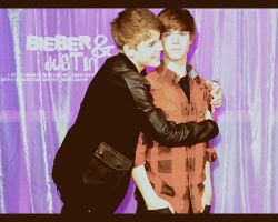 Bieber and Justin O1 by Heisbieber