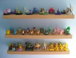 Pokemon Shelves! by Fishlover