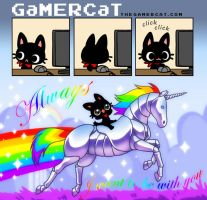 GaMERCaT - ALWAYS by celesse
