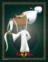 Master Pai Mei from Kill Bill by LuisArriola