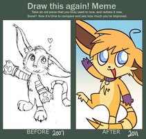 Draw This Again Meme by ecokitty