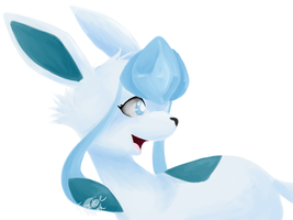 Glaceon by FrostieChu