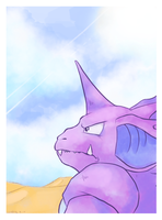 Nidokings quest by Grethe--B