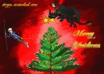 Jack Frost And Hiccup - Christmas Contest by ShoyzzFanArt