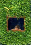 House surrounded by plant by efira-japan