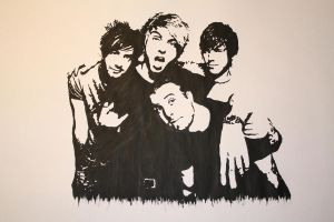 All Time Low PopArt by LenaLawliet