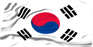 Flags of the World: South Korea by MrAngryDog