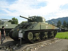 M4 Sherman by shinjoandrea