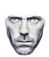 Dr. Gregory House W.I.P by ravdenmark