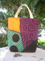 The Nightmare Before Christmas bag - Side 1 by songbirdholly