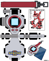 DIGIVICE_TAMERS_Takato by randyfivesix