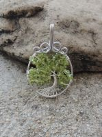 Luck of the Tree * SOLD* by SerenityWireDesigns