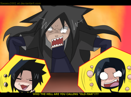 never call madara OLD! by itasasu2002