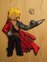 Edward Elric FMA Trainer Perler Beads by Cimenord