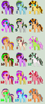 Pony adoptables batch 4 (18/18 OPEN) by NightFever100
