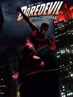 Daredevil Cover by Sgrum
