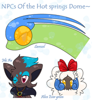 NPC Suggestion- Hot Springs Characters by SapphireMiuJewel