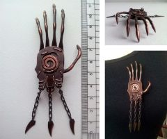 Ghost Touch brooche by Enotification