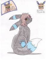 FA- Cotton the Umbreon by Sir-Genesis