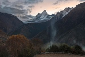 Ama Dablam Sunrise by jasonwilde