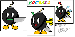 Bombazo 3 poses by StarTheYoshi