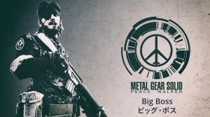 Metal Gear Solid Peace Walker - Big Boss - Cosplay by darknetcs