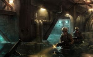 Sewers by Phade01