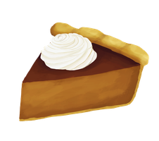 365 day 40 Pumpkin Pie by Korikian