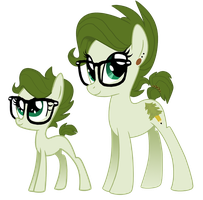 Trees (Filly and Mare) by LostInTheTrees
