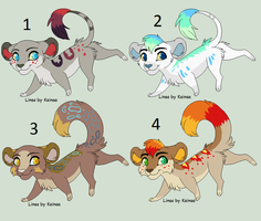Lion adoptables! :CLOSED: by LizzysAdopts