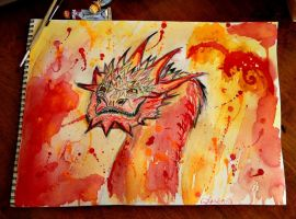 Oh, I don't think so, Barrel-Rider! -Smaug by NorseGirl