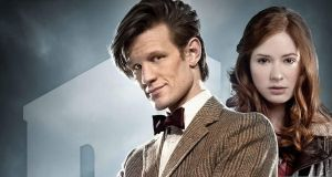 Doctor Who S6WP - 11 and Amy by drawingdream