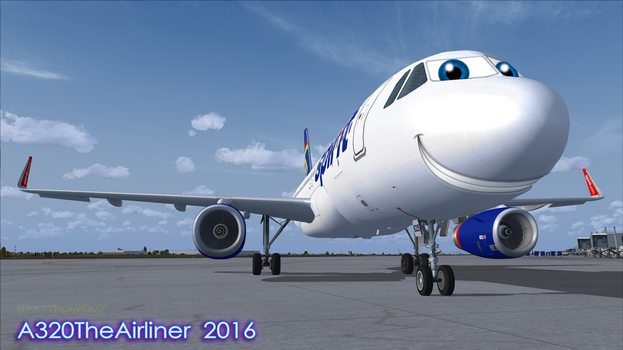Willie's Happy Smile by A320TheAirliner