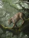 Ocelot on Tree by Edestoid