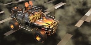 Civilian 4 x 4 Survival Buggy by Xadrik-Xu