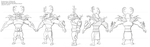 Untitled Animation Project - Character Rotation 2 by AlexanderHenderson