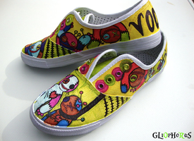 My voodoo shoes by Gliophorus