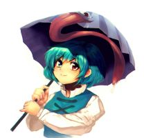 Kogasa chan by Anchors-Hermit9