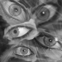 The Eyes Collage by DominosAreFalling