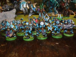 Outer Ones Troops by Minetroll