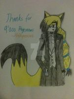 ~.:Thanks for 9000 Pageviews:.~ by Valkyrie01325