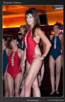 Red Swimming girl - 2nd by lebreton