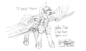 Request: Yellow Flash in ERG armor by meto30