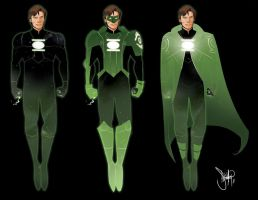 Green Lantern Redesign by 13wishes