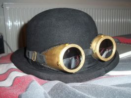 Brass Goggles of Steampunkery by DonKrow